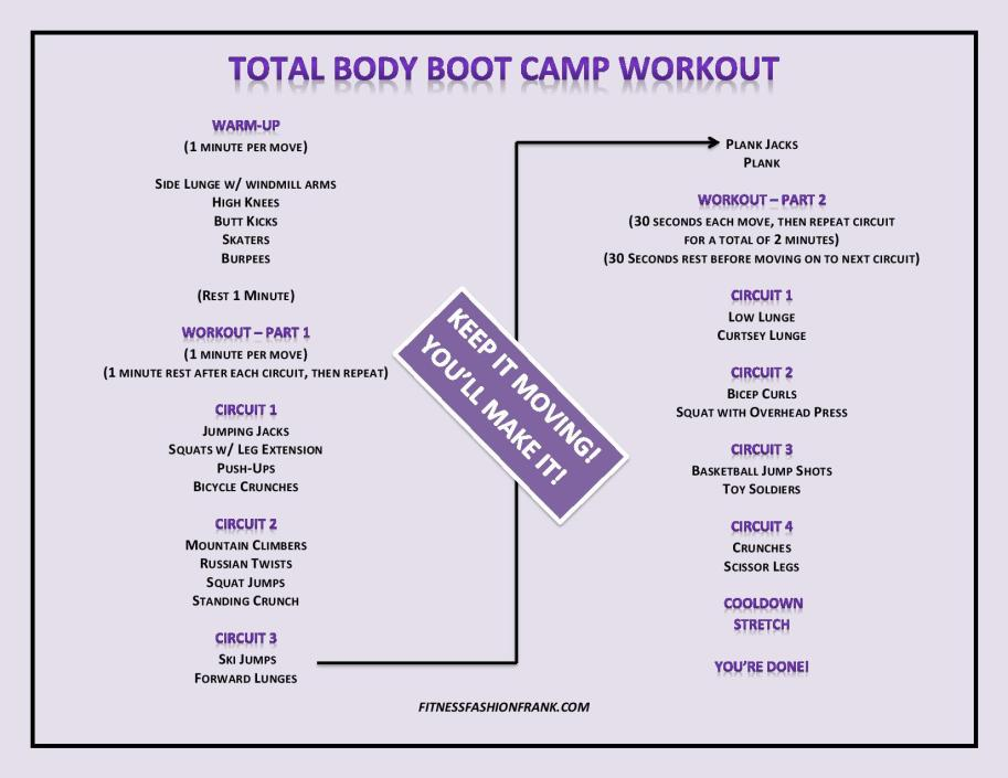 Total Body Boot Camp Workout JPG